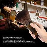 kuroushi Spazzole a collo a pelo lungo manico in legno di taglio di capelli di Salone di parrucchiere