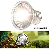 Outgeek UV Heat Bulb UVB UVA 75W Sun Simulating Reptile Lamp Pet Heat Light for Turtle