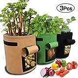 APERIL Sac de Culture pour Pommes de Terre, 3 x Gallons, Sacs de Plantation...