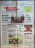 Telecharger Livres NOUVELLE REPUBLIQUE LA No 13123 du 08 12 1987 REAGAN ET GORBATCHEV AU SOMMET LES ATOMES CROCHUS ANTILLES LE PEN INTERDIT DE SEJOUR CONTRASTE PAR TARIBO PARIS ET TEHERAN RAFLE D OPPOSANTS IRANIENS EN FRANCE ACTION DIRECTE RECONSTITUTION DE L ASSASSINAT DE GEORGE BESSE A QUOI REVENT NOS ENFANTS AVORD PILOTE DE COMBAT A 20 ANS LE PEINTRE HUBERT DAMON (PDF,EPUB,MOBI) gratuits en Francaise