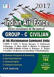 Indian Air Force Group C ( Civilian ) Exam Books 2017