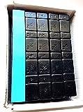 100 Streifen 60g (4x5+ 4x10g) Klebegewichte Schwarz Auswuchtgewichte Kleberiegel