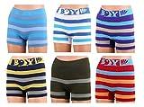12 Stück Kinder Jungen Boxershorts Unterhosen Kids Unterwäsche Mikrofaser 98 bis 164 (98-104, Boy )
