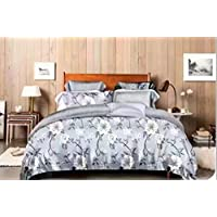 Comfortable home Quilt Cover Kingsize 220X240 Bedsheet 6pcs One Set High Quality Bedding Set duvet cover