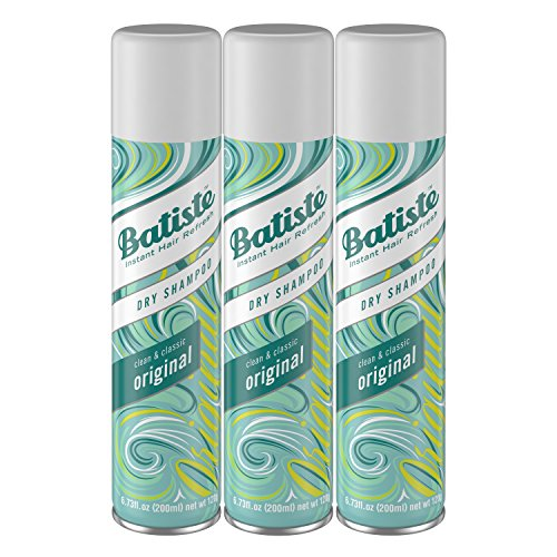 Batiste Dry Shampoo, Original, 3 Count Packaging May