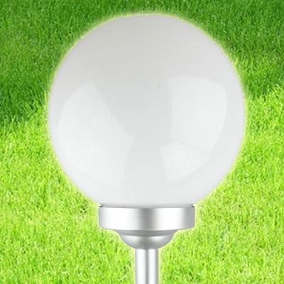 LED Solarleuchten - Solarkugeln milchglas-design, 20 cm von Starke bei Lampenhans.de