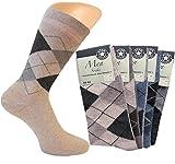 10 Paar Business Socken (39 - 42, karo)