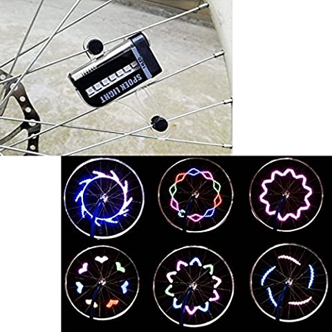 Yongse 2pcs del motociclo LED della bici della rotella del segnale lampeggiante ha parlato la luce