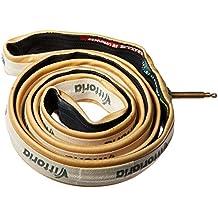 """Vittoria Juniores - Cubierta para bicicletas, color negro / beige, talla FR: 20"""" - 21mm"""