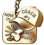 Best Coaches Geschenk: Premium Qualität Schlüsselanhänger in einer einzigartigen Reißverschluss Pack