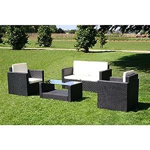 Arredamento giardino esterno tavolino 2 poltrone 1 divano for Amazon arredamento