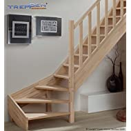 Profigold Section Timber Savoy Beech/Spruce ¼ Coiled Right or Left with Wooden Posts Rail