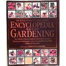 Royal Horticultural Society Encyclopedia of Gardening (Value Books)