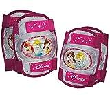 Unbekannt 4 TLG. Kinder Set KNIESCHÜTZER 3 Disney Prinzessinnen - ELLENBOGENSCHÜTZER Knieschoner - Schützer z.B. für Rollschuhe Inline Skates - Mädchen