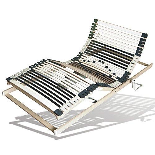 Benninger Select Motor-Rahmen, 7-Zonen, 44 Leisten, 12-fache Härtegradregulierung, sehr belastbar & extra stabil (140 x 200 cm) thumbnail