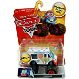 Disney Pixar CARS TOON Exclusive Oversized Die Cast Car I-SCREAMER - Véhicule Miniature - Voiture