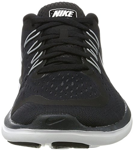 Nike Flex 2017 RN, Scarpe da Corsa Donna Nero (Black/white-anthracite-wolf Grey)