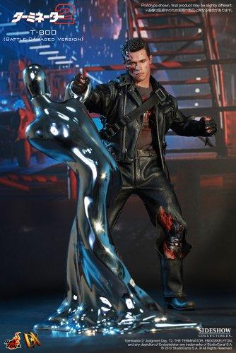 "[Movie Masterpiece DX] ""Terminator 2"" 1/6 scale figure T-800 (Battle Damage version) (second shipment) (japan import) 3"
