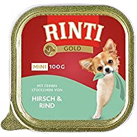 Rinti Gold mini Hirsch & Rind, 16er Pack (16 x 100 g)