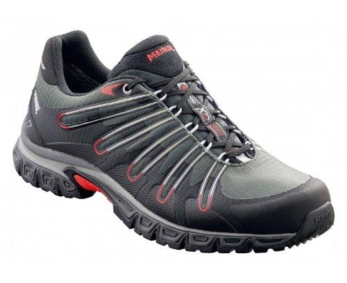 Preisvergleich Produktbild MEINDL XO 8.0 Hiking-Schuhe Herren, Grau/Schwarz/Rot, 43