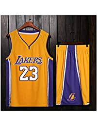 ZWXYA Lebron James 23 Fan Men Jersey Basketball NBA ...