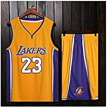ZWXYA Lebron James 23 Fan Men Jersey Basketball NBA ...