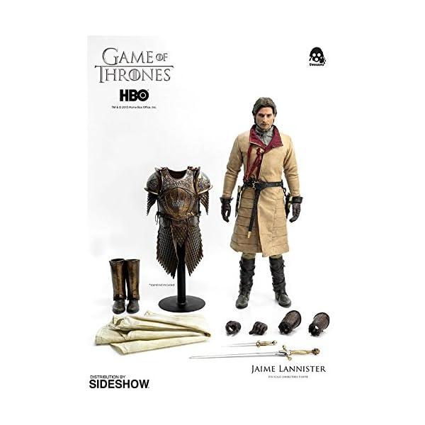 Figura de colección Three Zero Game of Thrones: Jaime Lannister (1/6) 2