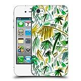 Head Case Designs Offizielle Ninola Tropische Weisse Palmen Botanisch 2 Ruckseite Hülle für iPhone 4 / iPhone 4S