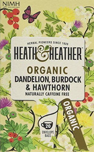 A photograph of Heath & Heather dandelion with burdock