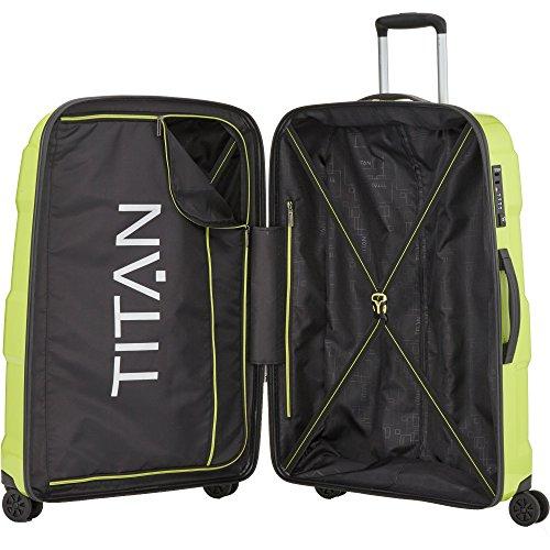 TITAN X2 Hartschalenkoffer Größe L, 825404-30 Koffer, 76 cm, 103 L, Salt Lime Green