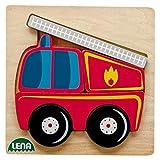 Ideenwelt Holzpuzzle Feuerwehr 1 Stück 6-teilig, ab 18 Monate