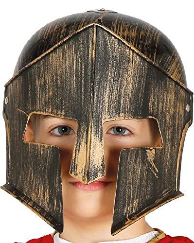 Fancy Me Mädchen Jungen Römische Gladiator Helm Hut Schule Weltbuch Kostüm Kostüm Outfit Zubehör