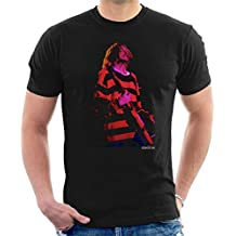 Roger Sargent Official Photography - Kurt Cobain Nirvana Guitar Men's T-Shirt