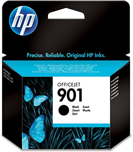HP 901 Schwarz Original Druckerpatrone für HP Officejet 4500, J4524, J4580, J4624, J4680 - Hp Desktop Wireless