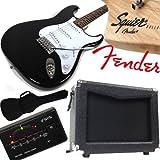 Original FENDER E-Gitarre Squier Bullet Strat