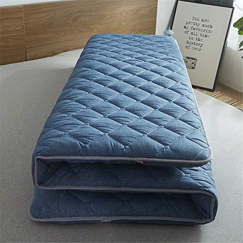 HXDP Japanische Matratze FutonMatratze Schlafen Mat Baumwolle Tatami matratze rutschfest Faltende Weiche bodenmatte Atmungsaktiv Studentenwohnheim Schlaf Matratze Topper -