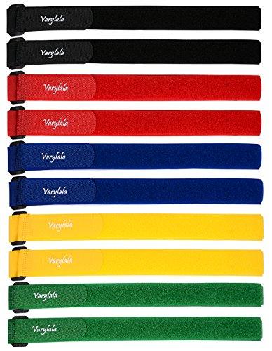 Varylala Klettverschluss-Spanngurte für Stabilisator, merhfarbig, 21