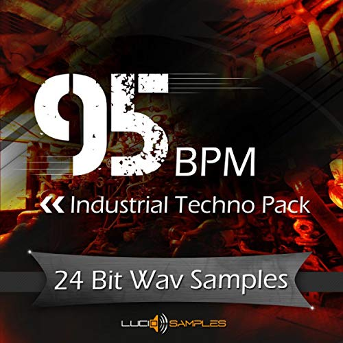 95 BPM Industrial Techno Pack, Industrial Samples, Loops, Sounds | WAV Files (24Bit) | Download