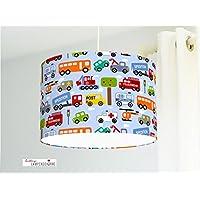 Deckenlampe Kinderzimmer Autos