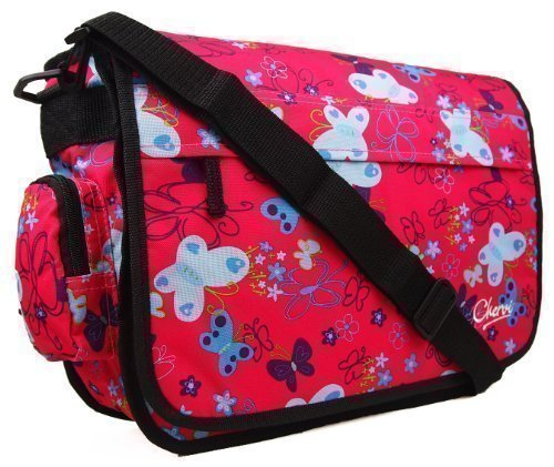 Chervi Lane, Borsa bambini rosa - Pink Butterfly