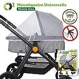 O³ Moustiquaire Cosy Universel | Moustiquaire Poussette Universel | Protection...