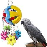 Parrot Kauspielzeug für Vogel Ara African Greys Wellensittiche Sittiche Nymphensittiche Sittiche Lovebirds Käfig Zubehör Spielzeug zum Aufhängen