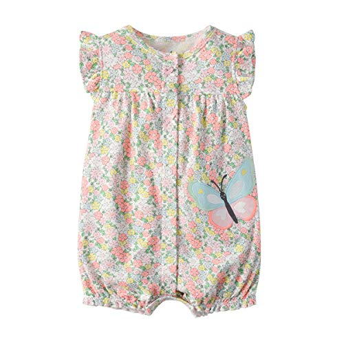 CuteRose Baby Boys Girls Short Sleeve Onesies Bodysuit Outfit Beachwear 6 73