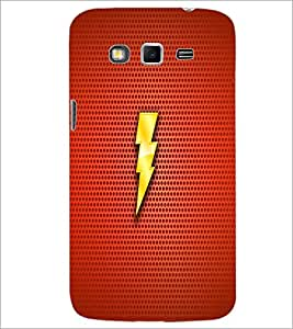 PrintDhaba Lightening D-1864 Back Case Cover for SAMSUNG GALAXY GRAND 2 (Multi-Coloured)