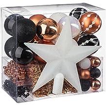Lotto di decorazioni natalizie - kit di 44 pezzi per