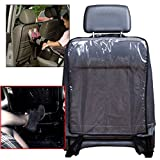 Auto Sitz Rückenlehn Schutz transparent Sitzschutz Kinder PKW Rückenprotektor