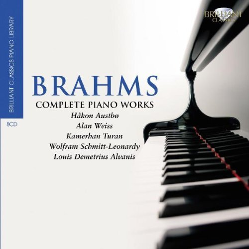 Brahms: Complete Solo Piano Works by Brilliant Classics (2010-09-23)