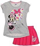 Disney Minnie Chicas Falda y camiseta - fucsia - 128