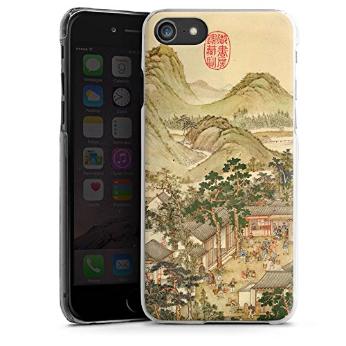 Apple iPhone X Silikon Hülle Case Schutzhülle Gemälde China Kunst Hard Case transparent