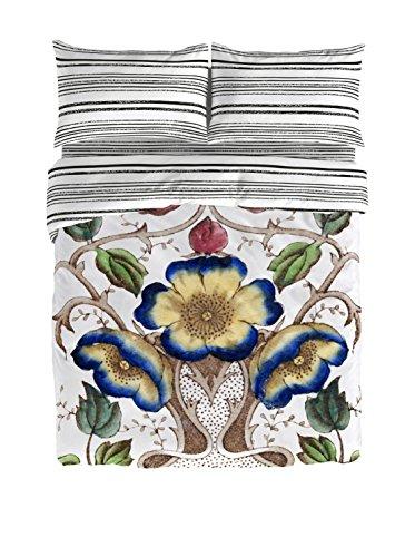 Victorio & Lucchino Petunia - Set copripiumino Cama 135 (220 x 220 cm + 45 x 155 cm) Blanco/Multicolor
